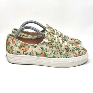 Keds x Rifle Paper Co Wildflower Tripledecker Wm 9